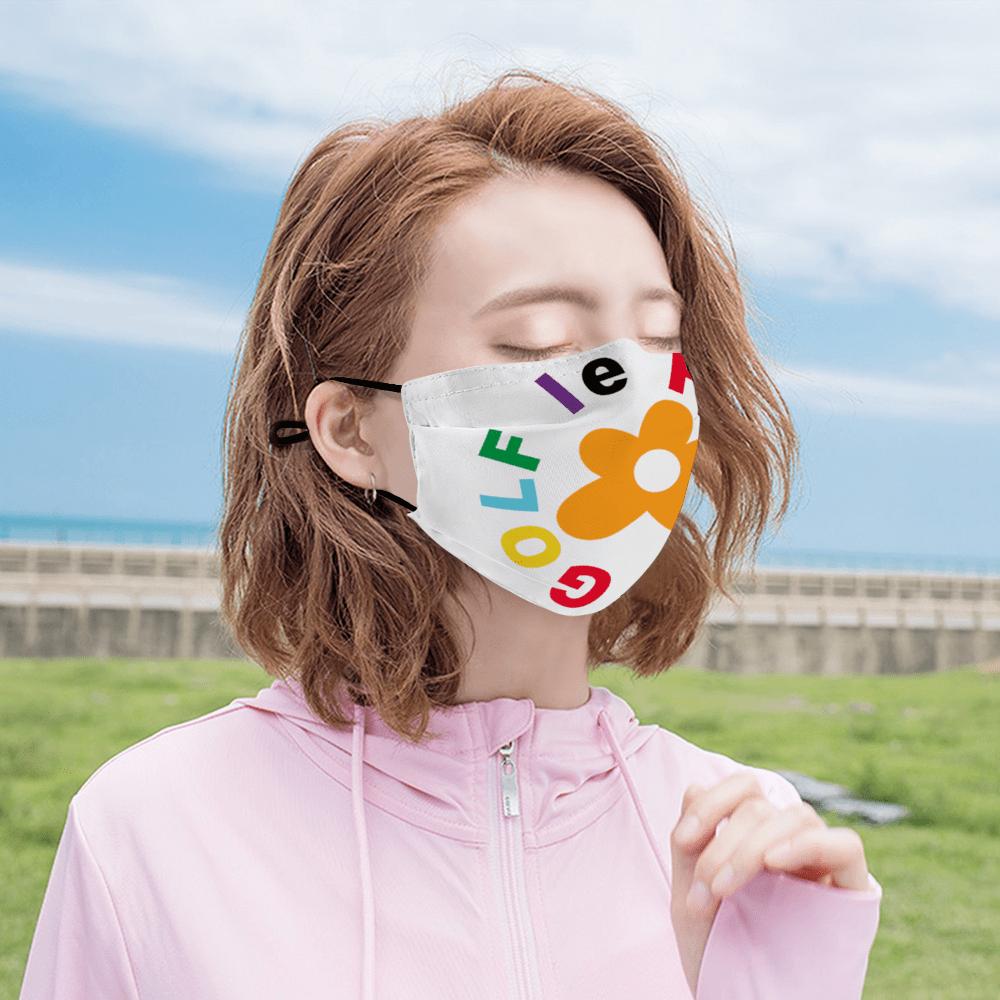 Flower Le Fluer Face Cover