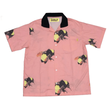 Pink Golf Flame Le Fleur Tyler The Creator Shirts