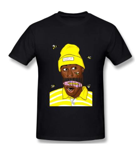 tyler the creator bee art shirt