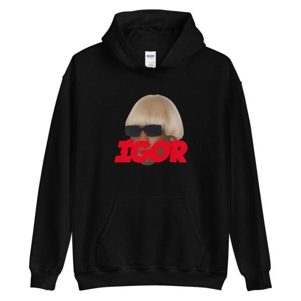 Tyler The Creator Igor Face Hoodie