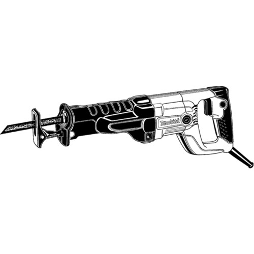 Makita JR3050T 1-1-8 in. Reciprocating Saw Kit