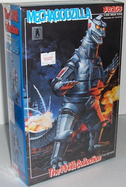 Styrene Godzilla kits