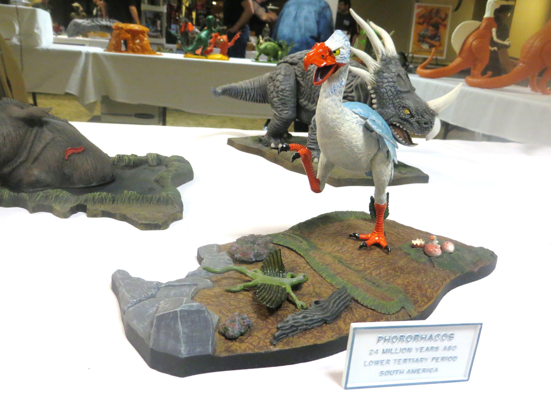 Aurora Prehistoric Scenes Models Collection Displays