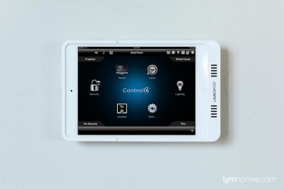 Control4 iPad app - Boise Parade of Homes