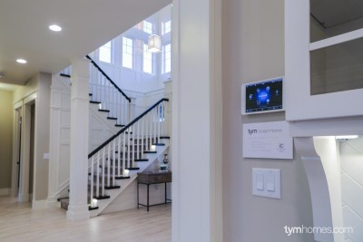 Wall-Mounted iPad with Control4 app - Boise Parade of Homes