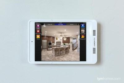 Savant TrueControl Home Automation iPad app - Salt Lake Parade of Homes