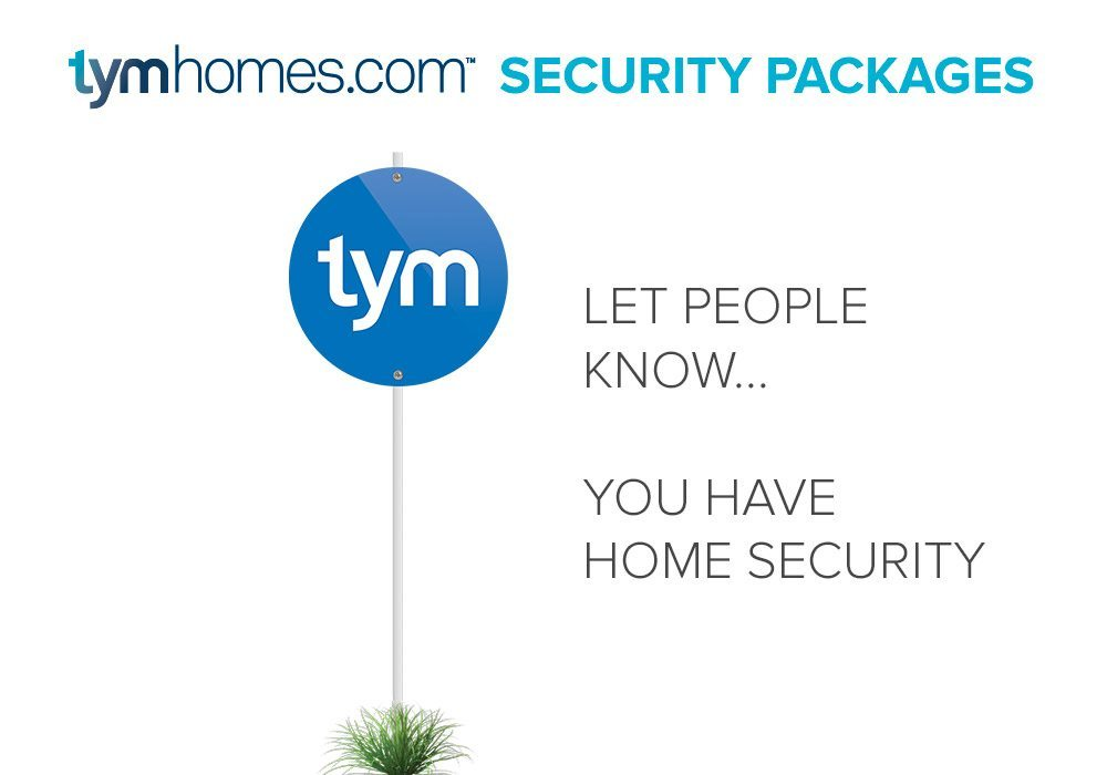 Home Security, Yard Sign, Salt Lake City