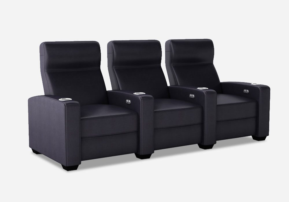 CinemaTech Home Theater Seating, Salt Lake City, Utah  |  CinemaTech 'Mezzanine'