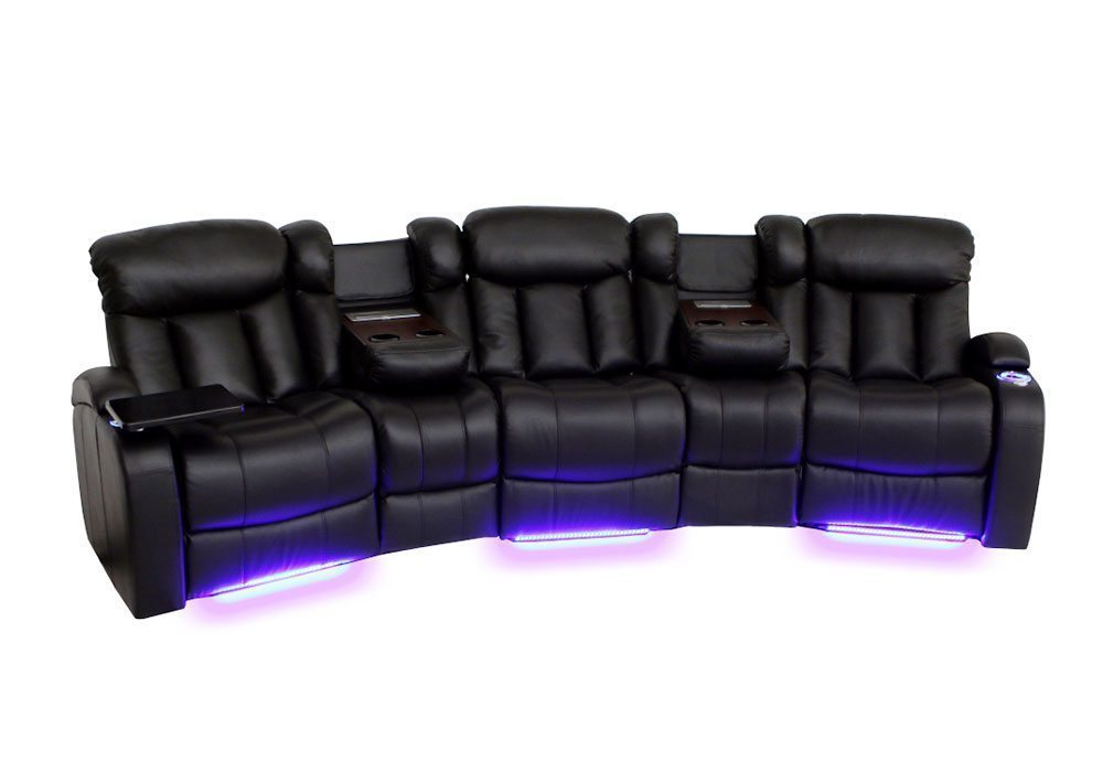 Seatcraft Home Theater Sectionals, Salt Lake City, Utah  |  Seatcraft Sectional 'Greneda LX'