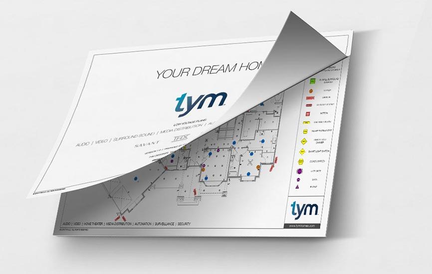 TYM Homes Prewire Design Service