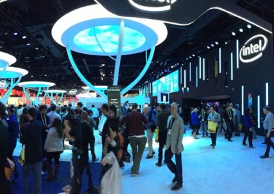 CES 2015 Intel Booth