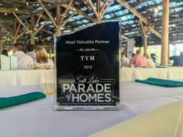 Most Valuable Partner, Salt Lake Parade of Homes