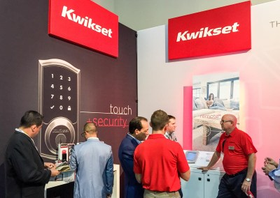 ISC West 2015 | Kwikset booth