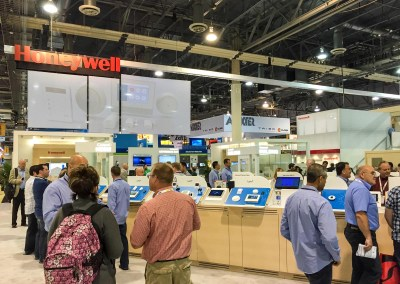 ISC West 2015 | Honeywell booth