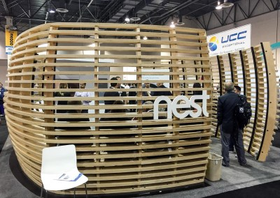 ISC West 2015   Nest booth