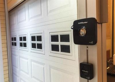 ISC West 2015 | Alarm.com booth, LiftMaster garage door automation