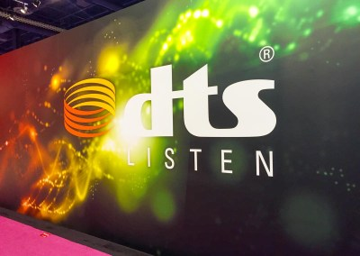 2015 NAB Show #NABshow | DTS booth with DTS:X