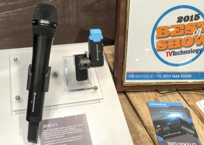 2015 NAB Show #NABshow | Sennheiser wireless microphones