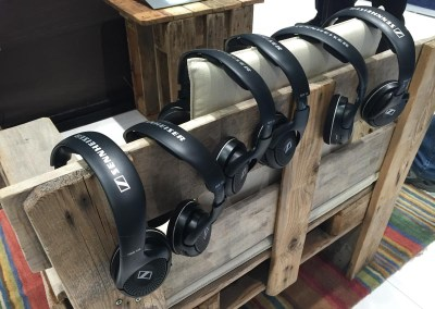 2015 NAB Show #NABshow | Sennheiser wireless headphones