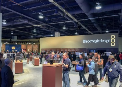 2015 NAB Show #NABshow | Blackmagic Design booth