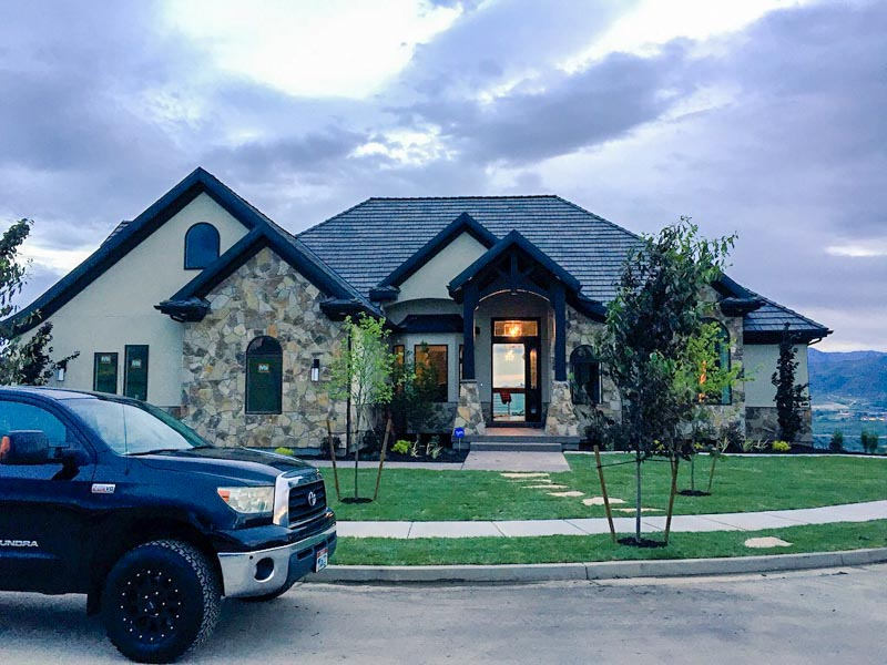 The Entertainer by Handcrafted Homes 4564 N Ridge View Way, Lehi Utah