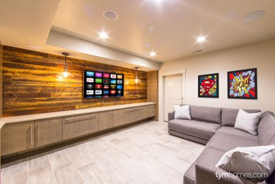 Boise home remodel | Savant video distribution for Sony 4K TV, controlled by Savant App | Boise, Idaho