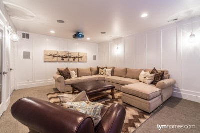 Jack Fisher Homes | 2015 Northern Wasatch Parade of Homes | Dolby Atmos Home Theater, Salt Lake City, Utah