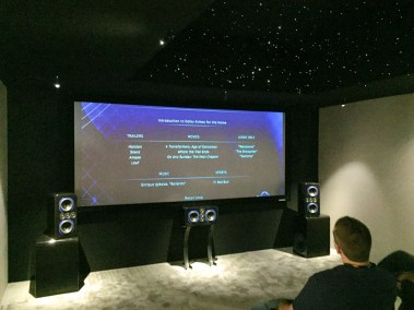 TruAudio Dolby Atmos demo, CEDIA 2015 | TYM, Salt Lake City, Utah