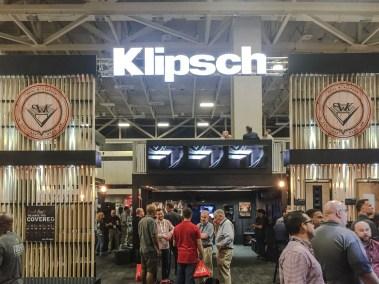 Klipsch booth, CEDIA 2015