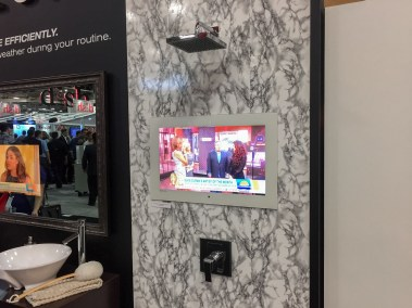 Séura shower TV, CEDIA 2015