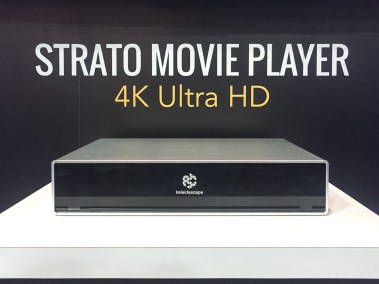 Kaleidescape STRATO 4K Ultra HD Movie Player, CEDIA 2015 | TYM, Salt Lake City, Utah
