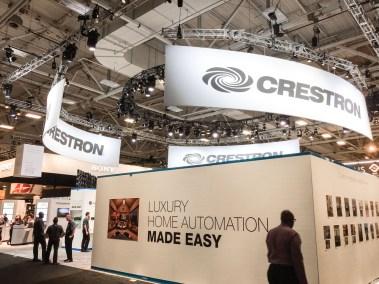 Crestron booth, CEDIA 2015