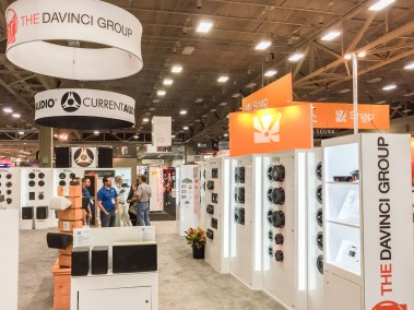 The Davinci Group booth, CEDIA 2015