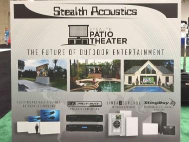 Stealth Patio Theater, CEDIA 2015