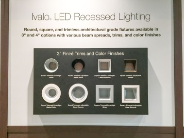 Lutron Ivalo LED Recessed Lighting, CEDIA 2015 | TYM, Salt Lake City, Utah