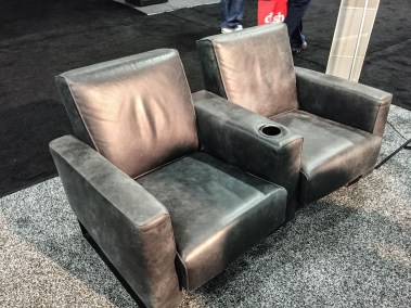 Cineak Home Theater Seating, CEDIA 2015 | TYM, Salt Lake City, Utah