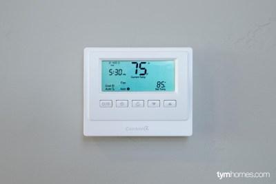 Control4 Smart Thermostat, Salt Lake City, Utah
