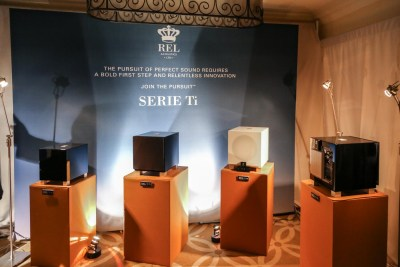 REL Acoustics Subwoofers Venetian suite CES 2016