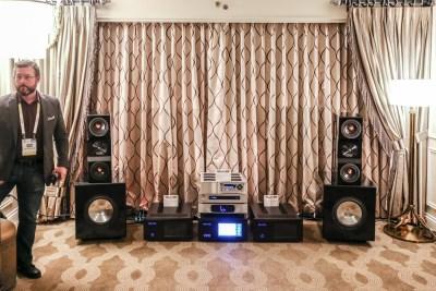 CAT California Audio Technology Venetian listening suite CES 2016