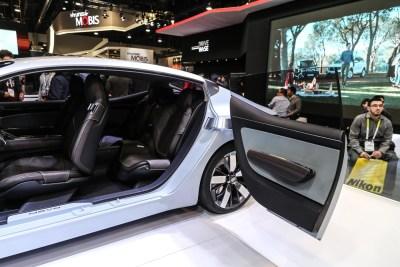 Kia Novo concept car CES 2016