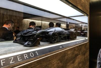 Faraday Future FFZERO1 concept car CES 2016