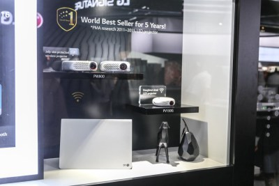 LG Pico Projectors CES 2016