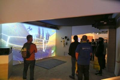 Sony VPL-VW5000ES 4K Laser Video Projector CES 2016, Salt Lake City, UT