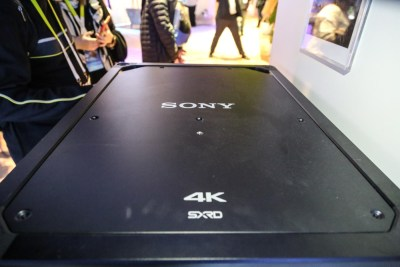 Sony VPL-VW5000ES 4K Laser Video Projector CES 2016, Salt Lake City