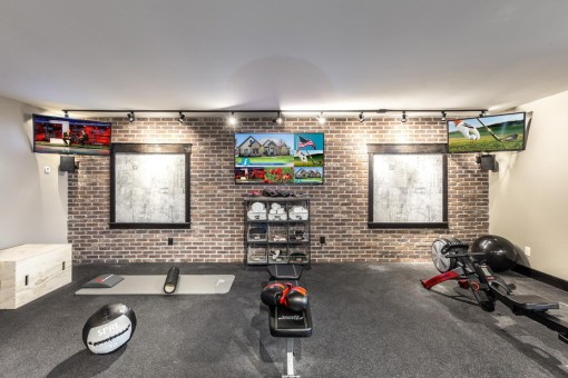 High-Tech Smart Home Gym, EH Home Of The Year Awards 2016