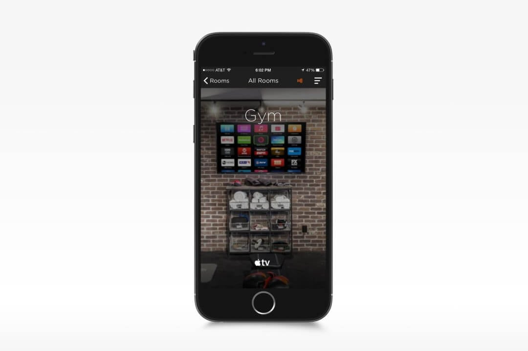 Home Gym Savant Home Automation App for iPhone