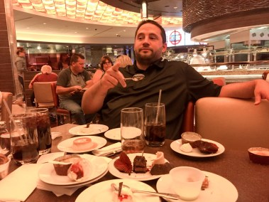 Matt hates this picture (not all the plates are his) InfoComm 2016, Las Vegas, Nevada
