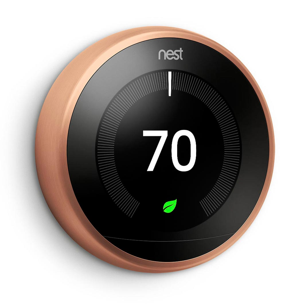 Nest Learning Thermostat Copper Color