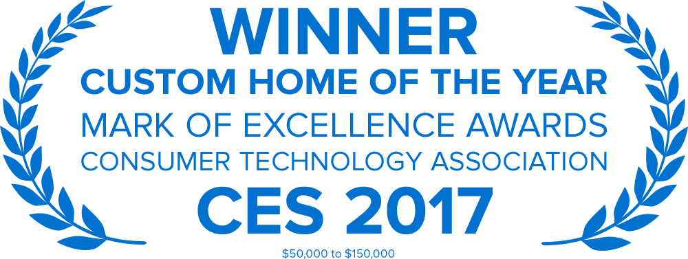 Custom Home of the Year, Consumer Technology Association, CES 2017