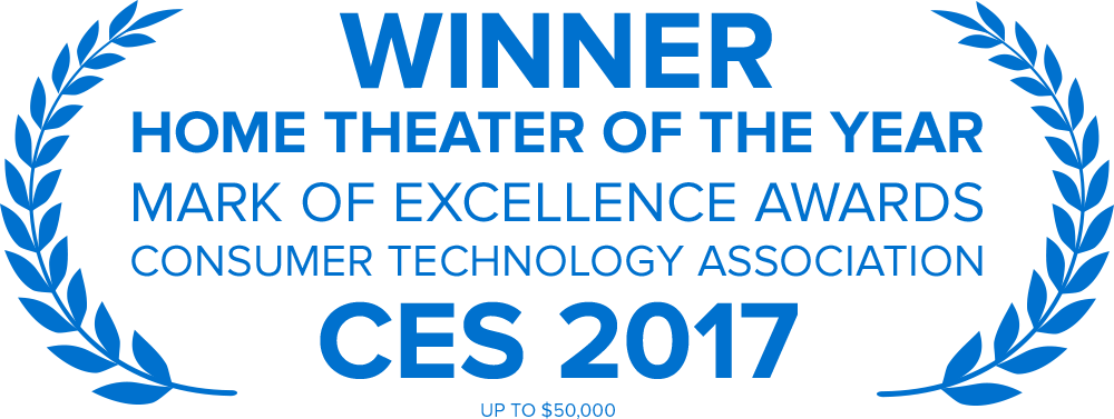 Home Theater of the Year Award, Consumer Technology Association CES 2017